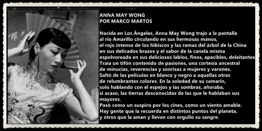 ANA MAY WONG   POR MARCO MARTOS CARRERA