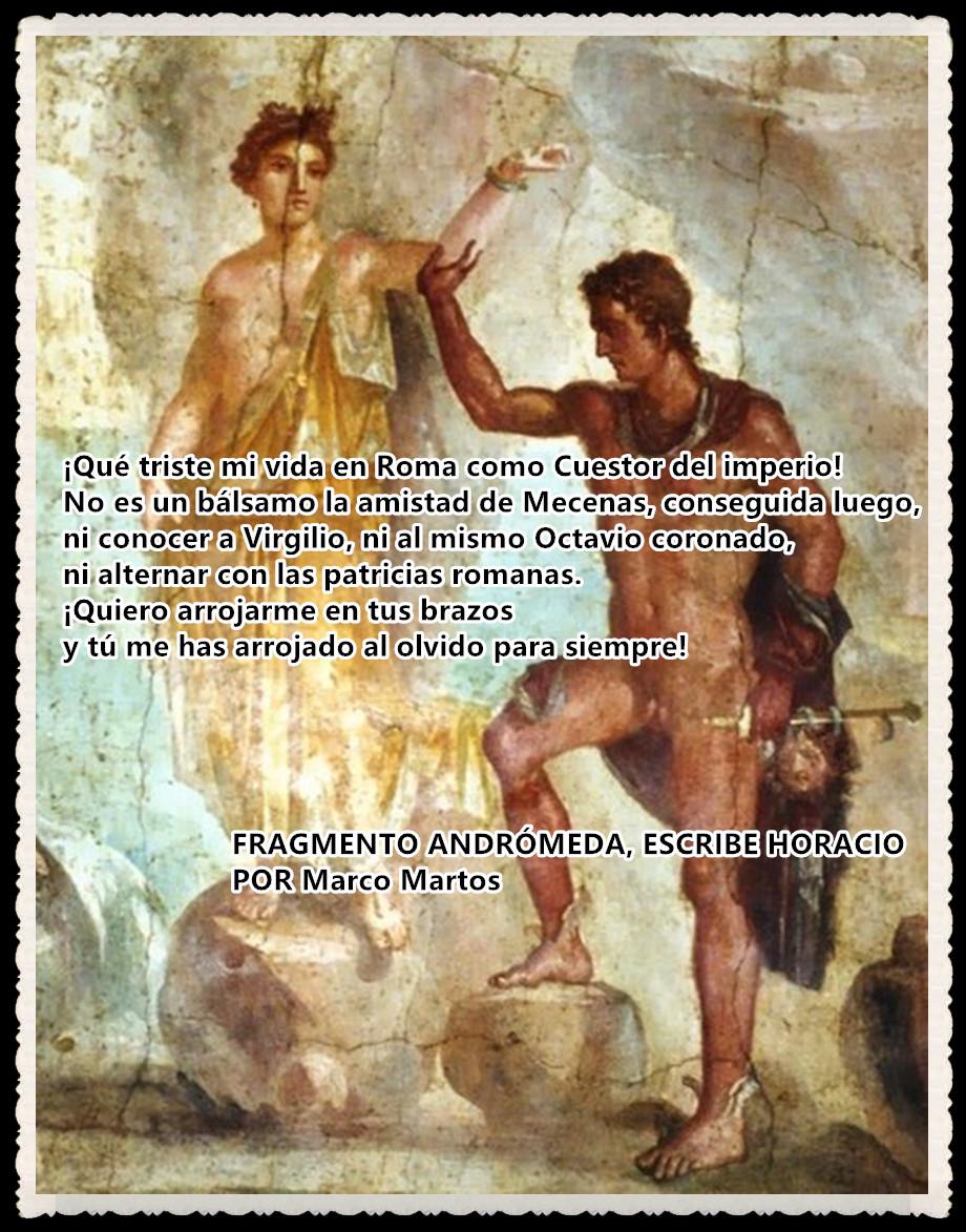 ANDRÓMEDA, ESCRIBE HORACIO POR MARCOMARTOS
