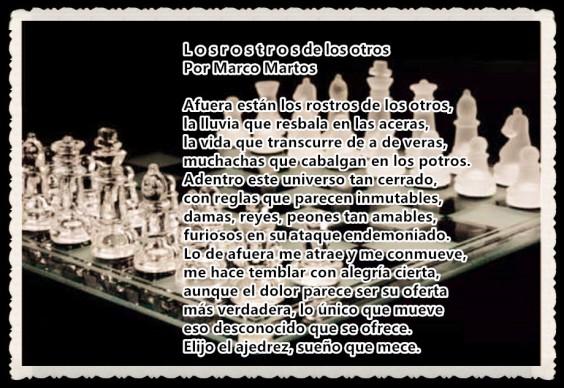 L O S R O S T R O S DE LOS OTROS POR MARCO MARTOS