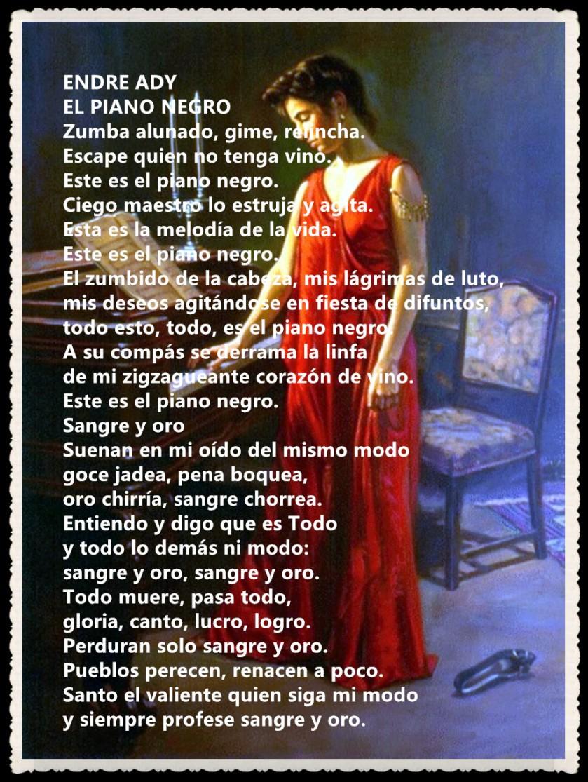 ENDRE ADY -EL PIANO NEGRO