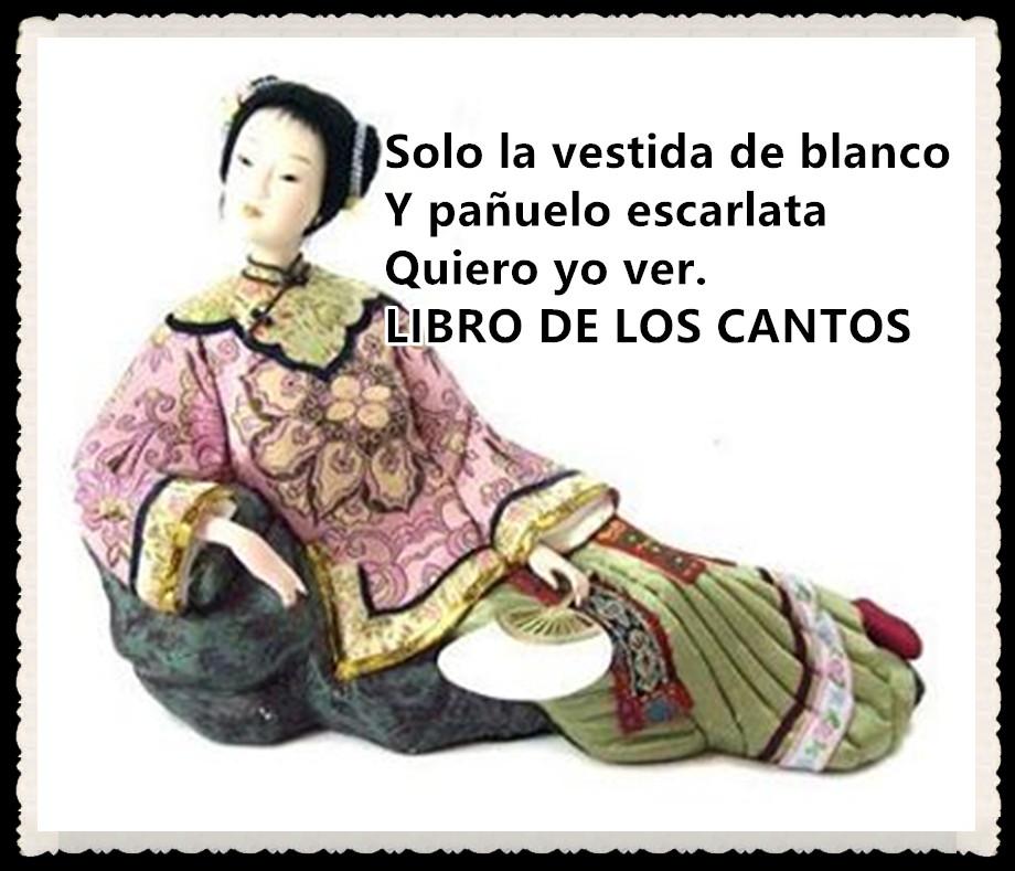 1 Solo la vestida de blanco EL LIBRO DE LOS CNTOS