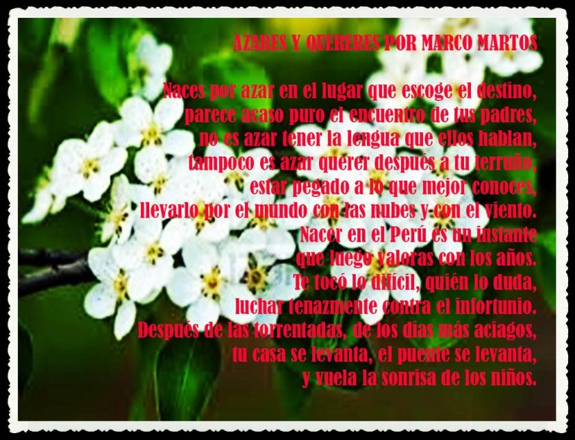 AZARES Y QUERERES POR MARCO MARTOS