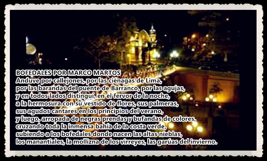 POEMA : BOFEDALES POR MARCO MARTOS