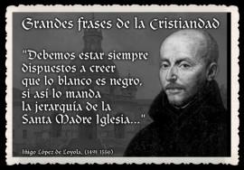 FRASES Y PENSAMIENTOS MARIANOS -FRASES DE SAN IGNACIO DE LOYOLA - PENSAMIENTO JESUITA -HUMANISMO Y FE (19)