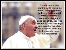 Jorge Mario Bergoglio -Papa número 266 - iglesia católica -l primer pontífice PAPA del continente americano- BIENVENIDO PAPA FRANCISCO (22)