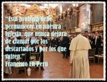 PAPA FRANCISCO CITAS Y FRASES EN EL PERÚ -PAPA JESUITA -COMPAÑÍA DE JESÚS - UNIDOS POR LA FE Y LA ESPERANZA (158)