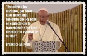 PAPA FRANCISCO CITAS Y FRASES EN EL PERÚ -PAPA JESUITA -COMPAÑÍA DE JESÚS - UNIDOS POR LA FE Y LA ESPERANZA (2)