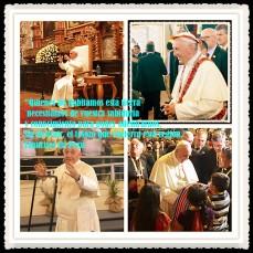 PAPA FRANCISCO CITAS Y FRASES EN EL PERÚ -PAPA JESUITA -COMPAÑÍA DE JESÚS - UNIDOS POR LA FE Y LA ESPERANZA (254)