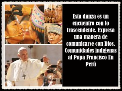 PAPA FRANCISCO CITAS Y FRASES EN EL PERÚ -PAPA JESUITA -COMPAÑÍA DE JESÚS - UNIDOS POR LA FE Y LA ESPERANZA (45997)