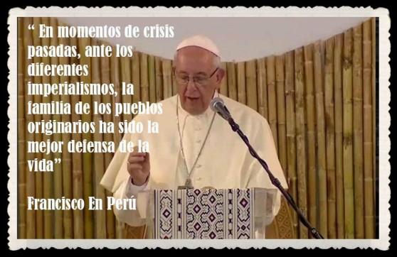 PAPA FRANCISCO CITAS Y FRASES EN EL PERÚ -PAPA JESUITA -COMPAÑÍA DE JESÚS - UNIDOS POR LA FE Y LA ESPERANZA (5)