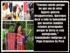 PAPA FRANCISCO CITAS Y FRASES EN EL PERÚ -PAPA JESUITA -COMPAÑÍA DE JESÚS - UNIDOS POR LA FE Y LA ESPERANZA (525)