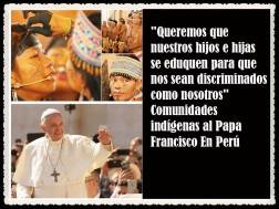 PAPA FRANCISCO CITAS Y FRASES EN EL PERÚ -PAPA JESUITA -COMPAÑÍA DE JESÚS - UNIDOS POR LA FE Y LA ESPERANZA (66661)
