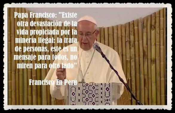 PAPA FRANCISCO CITAS Y FRASES EN EL PERÚ -PAPA JESUITA -COMPAÑÍA DE JESÚS - UNIDOS POR LA FE Y LA ESPERANZA (69)