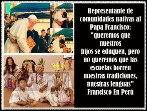 PAPA FRANCISCO CITAS Y FRASES EN EL PERÚ -PAPA JESUITA -COMPAÑÍA DE JESÚS - UNIDOS POR LA FE Y LA ESPERANZA (75825)