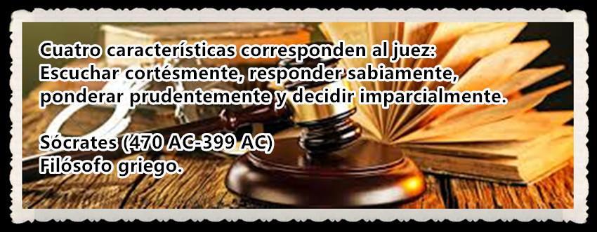 Cuatro características corresponden al juez Escuchar cortésmente, responder sabiamente, ponderar prudentemente y decidir imparcialmente.