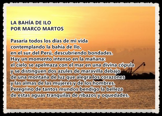 1 La bahía de Ilo por MARCO MARTOS CARRERA