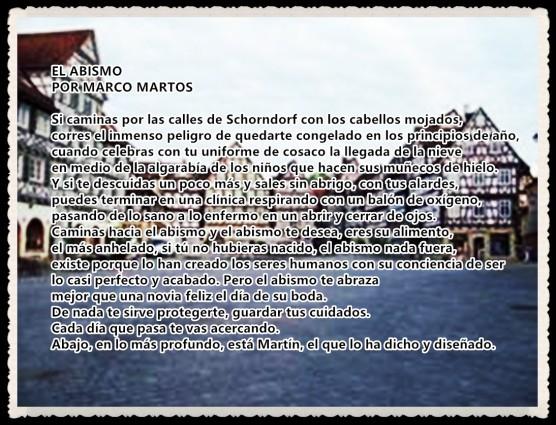 calles de Schorndorf_EL ABISMO POR MARCO MARTOS