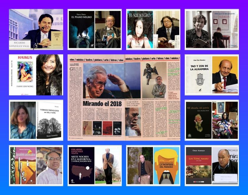 2 -Edición 2571 Mirando el 2018 Por Ricardo González Vigil Lo mejor del año en poesía- novela- ensayo-cuento y no ficción REVISTA CARET (9)