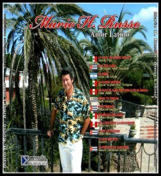 """FANNY JEM WONG Como poeta invitado por Mario H. Russo AMOR LATINO Con el repertorio """"La Novia de la Oscuridad"""", 2011. Sello de grabació"""