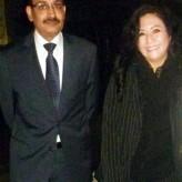 07-08-2014 Cónsul del Reino de Arabia Saudí Fahed Sahel Mag. Ps . Fanny Wong Miñán