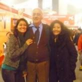 El destacado Maestro Dr. Fernándo Lecaros y Fanny Jem Wong en la FIL.