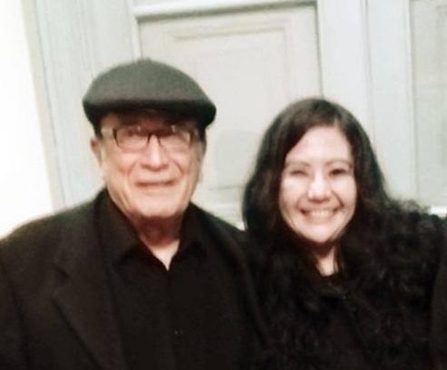 FANNY JEM WONG, Magister en Psicología y docente en la Universidad César   Vallejo (Filial Callao), con el destacado y reconocido, escritor,   periodista y profesor universitario en Estados Unidos: EDUARDO GONZÁLEZ   VIAÑA.